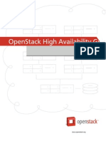 Openstack Ha Guide Trunk