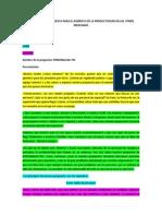 Presentación Propuesta Para El Aumento de La Productividad en Las Pymes Mexicanas