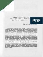 Zaragoza Ruvira, Gonzalo - Aproximación Al Anarquismo Americano El Caso Argentino