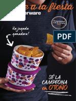 Tupperware mid-September Brochure – US Spanish