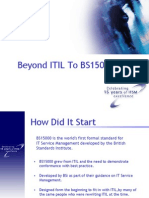 Beyond Itil to Bs15000