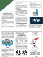 Calidad y Productividad Triptico Para Imprimir