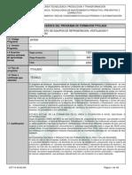 Infome Programa de Formación Titulada 2014