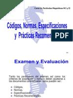 003) Clasificación de Discontinuidades y Codigos y Normas d