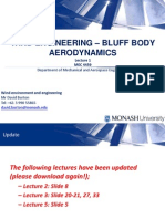 Wind Engineering - Lecture 1 - Bluff Body Aerodynamics1