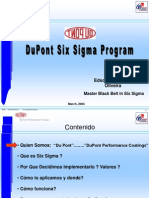 Six Sigma Presentation - Español