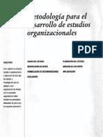 Metooloía Para El Desarrollo de Estudios Organizacionales