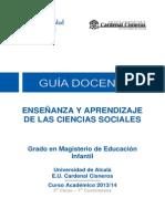 510021 Enseñanza y Aprendizaje de Las Cc Sociales