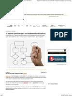 10 Mejores Prácticas Para Una Implementación Exitosa _ Alto Nivel