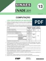 Prova Computação 2011