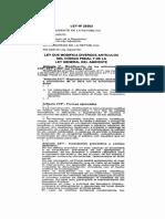 Delitos Ambientales Ley.29263