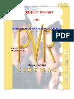 Pvr Cinemas Marketing Strategy
