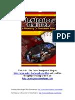 Destination Final Table