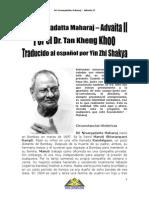 Sri Nisargadatta Maharaj Advaita II