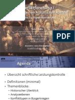 Int. Konfliktforschung I - Woche 13 - Repetitionswoche