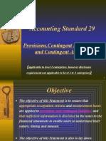 Accounting Standard 29