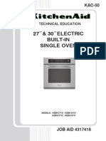 4317418 Single Wall Oven