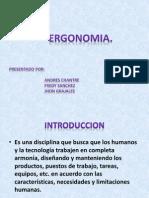 Ergonomia-Definiciones y Conceptos