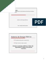 Eletricidade Aplicada - Geração, Transmissão e Distribuição Da Energia Elétrica
