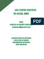 Excel Macros Elegido