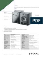 Alpha80 Specification Sheet