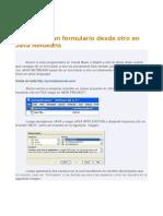 Cómo Abrir Un Formulario Desde Otro en Java Netbeans