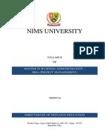 MBA PRJ Syllabus REv2 Final
