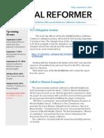 NorCal Reformer 44 (September 5, 2014)