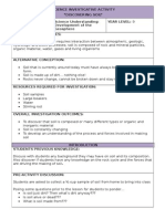 soil science activity template