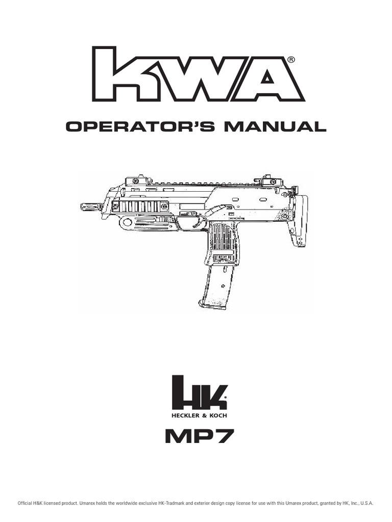 KWA MP7 | Trigger (Firearms) | Weapon Design