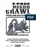 One Page Dungeon Crawl