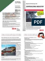 Fixturlaser Segment Brochure Ship Building