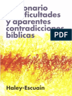 John W. Haley y Santiago Escuain - Diccionario de Dificultades y Aparentes Contradicciones Bíblicas