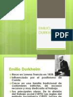 Emilio Durkheim 23agosto
