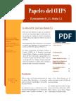 Papeles Del CUEPS, El Pensamiento de J. L. Alemán S