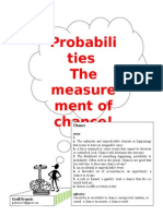 Probabilities Concise Version 4