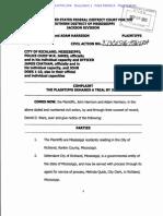 Harrison et al v. City of Richland, Mississippi et al, 3:13-cv-00546-HTW-LRA
