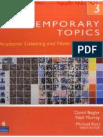 Contemporary Topics 3 Third Edition