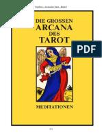 VALENTIN  TOMBERG - DIE  GROSSEN  ARCANA  DES  TAROT - Band 3