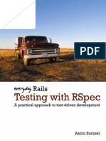Everyday Rails r Spec