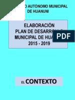 Plan Trabajo PDMH (2 Eptiembre 2014)