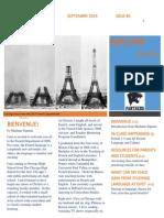 French Newsletter - September 2014