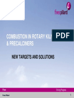 Combustion in Rotary Kilns & Precalciners, New Targets and Solutions