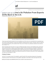 One-Fifth of China's Air Pollution From Exports Drifts Back to the U.S. - D-brief _ DiscoverMagazine