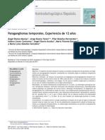 Paragangliomas Temporales. Experiencia de 12 Años
