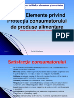 Elemente Privind Protectia Consumatorului in Romania