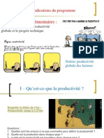 TD 3 La Productivité (Version Non Corrigée)2014-2015
