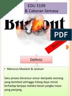EDU 3109-Guru Terbakar