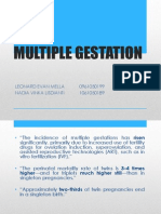 Tinjauan Pustaka Multiple Gestation