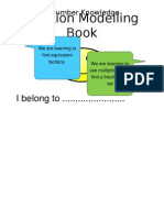 fractions modelling book copy